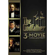 The Godfather Dvd Collection New Trilogy 3 Movie Disc Box Set Al Pacino DeNiro