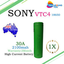 SONY US18650 VTC4 2100mAh 30A HIGH DRAIN Lithium Li-ion Rechargeable Battery