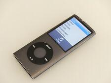 Apple iPod nano 4. Generation Schwarz (8GB) A1285 gebraucht #3R0