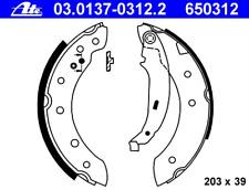 Bremsbackensatz - ATE 03.0137-0312.2