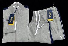 New Polo Ralph Lauren Mens Performance Jacket Pants Track Sweatsuit Size Medium