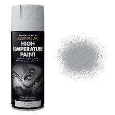 x 1 Rust-Oleum Auto Automotriz Coche pintura en aerosol alta temperatura ALU
