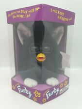 Brand New! 1998 Furby 70-800 Tiger Electronics Black with White Feet