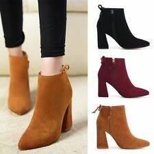 Unbranded Suede Medium Width (B, M) Boots for Women