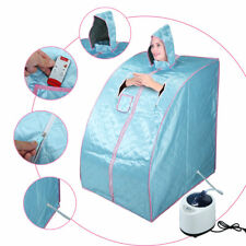 Blue 2L Portable Home Steam Sauna Spa Tent Slimming Loss Weight Detox Therapy