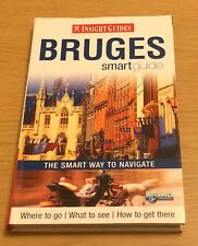 BRUGE SMART GUIDE Insight Guides Book (Paperback) NEW