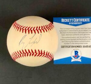 Ray Lankford early 1990s autograph Cardinals signed NL Baseball BAS COA Beckett