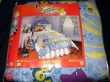 New Vintage Pokemon 1st Generation Full size Comforter Nintendo Pikachu Pokeball