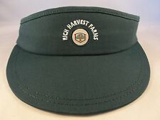 Rich Harvest Farms Golf Vintage Adjustable Strap Visor Hat American Needle Green