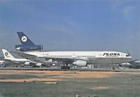 PLUNA-URUGUAY M-108 DC10-30 (47844) PP-VMW GIG Airp.July 94  Airplane Postcard