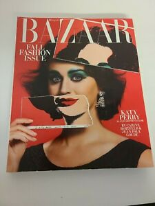 HARPER'S BAZAAR  MAGAZINE USA SEPT 2015 KATY PERRY COVER 700+PAGES NO ML