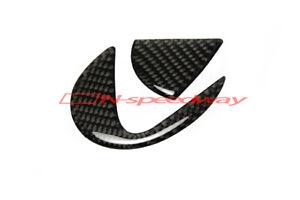 For 14+ Lexus IS 350 250 Sedan F Sport Carbon Fiber Trunk Emblem Decal Filler