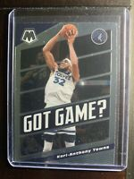 2019-20 Panini Mosaic Got Game? #20 Karl-Anthony Towns Timberwolves Card Insert