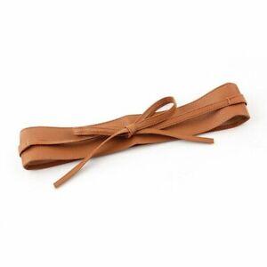 Women Corset Belt Leather Waistband Ladies Fashion Lace Up High Waist Wrap Belts