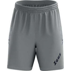 Zeus Plinio Men's Sports Fitness Training Shorts Soccer Shorts Bermuda New