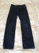 Abercrombie Boy Jeans size 12 Rollins low rise skinny zip fly