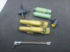 G.I. Joe or other action figure  Group of underwater accessories         (6