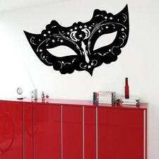 Masquerade Mask Home Decorations Family Decal Art Wall Stickers Living Room