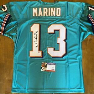 Dan Marino Signed Autographed Custom Dolphins Jersey PSA COA