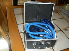 Hookah for tobacco use-Has original case and accessories in good condition