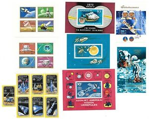 Hungary Stamp Set - Space Research