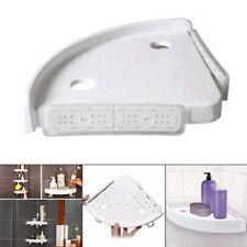 Bathroom Snap Up Corner Shelf Rack Triangle Polymer Storage Mount Holder Max 4K