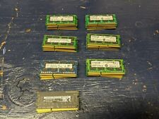 Lot of 35 Mixed Ram 4GB DDR3 PC3 & PC3L - 12800 & 10600 Laptop RAM Memory TESTED