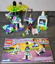 Lego Friends AMUSEMENT PARK SPACE RIDE 41128 Complete +Instruction Manual,No Box