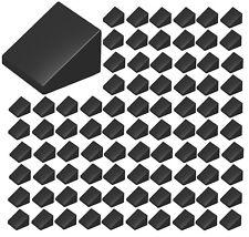 ☀️Lego 1x1x2/3 Black slope x100 Stud Part Piece Bulk Lot Legos # 54200