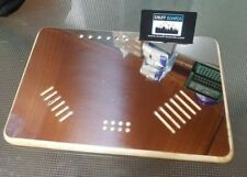 The original Snuff mate board mirror finish stainless tray chopping slots groove