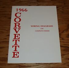 1966 Chevrolet Corvette Wiring Diagrams for Complete Chassis 66 Chevy
