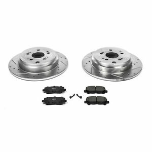 Power Stop Rear Z23 Evolution Sport Brake Kit for 12-15 Honda Pilot