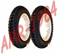 COPPIA GOMME ANTINEVE APE 50  2 RUOTE COMPLETE  VEE RUBBER 100/90-10  3.50.10