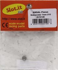 SLOT IT SIPI7012E 12-TOOTH ERGAL SIDEWINDER PINION NEW 1/32 SLOT CAR PART
