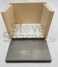CLEARVIEW VISION INSET VERMICULITE FIRE BRICK & BAFFLE SET