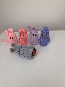 Knitted Egg Holders Easter