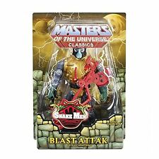 MASTERS OF THE UNIVERSE CLASSICS BLAST ATTAK FIGURE W/ BROWN MAILER *Nu*
