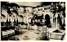 Rppc,Hershey,Pennsylvania ,New Hotel Hershey,Interior,Dauphine County,c.1930s