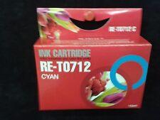 Compatible T712 cyan blue printer ink cartridge for DX4400,DX4450,DX7000F,DX7400