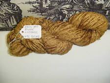 RAYON Chenille Yarn 1300 YPP 1 Skein, 4 oz. Col Luggage