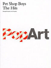 Pet Shop Boys The Hits Learn to Play Pop Piano Vocal & Guitar Music Book