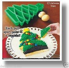 Christmas Tree Take-Apart Silicone Cake Baking Pan - Cupcakes, Muffins, Gelatins