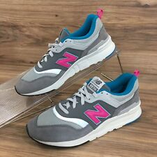 New Balance Mens 997 Castlerock Sneakers Shoes Gray Pink Size 8.5 New