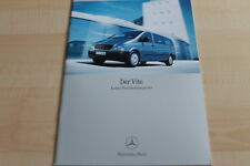 134500) Mercedes Vito - Kombi - Personentransporter - Prospekt 06/2004