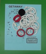 1978 Allied Leisure Getaway pinball rubber ring kit