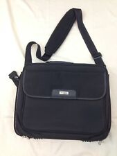 "Targus Black Nylon 15"" Computer Shoulder Carry Messenger Zip Close Bag"