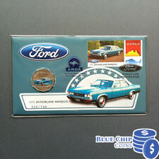 2017 50c Ford 1976-79 ZH Fairlane Marquis PNC PERTH ANDA MONEY EXPO OVERPRINT