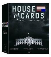 House of Cards - La Collezione Completa - Stagioni 1-6 - Cof. 23 Blu Ray Nuovo