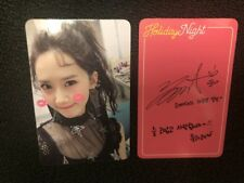 SNSD Holiday Night Girls Generation Official YOONA Photocard