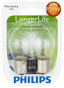 Turn Signal Light Bulb-LongerLife - Twin Blister Pack Philips P21WLLB2